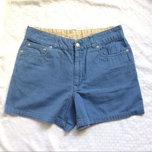Aussie Mode Blue Algodon Lind Shorts Sz6 $10